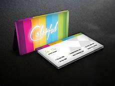 Colorful Business Cards Colorful Business Card Template Business Card