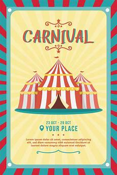 Free Carnival Poster Template Carnival Poster Vector Download Free Vectors Clipart