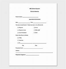Free Printable Doctors Note For School 40 Fake Doctors Note Template Download Pdf Doc
