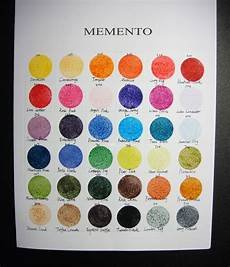 Memento Markers Color Chart Pin On Color