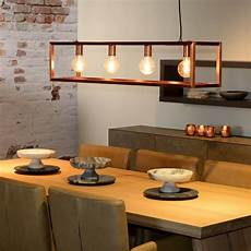 Copper Pendant Light Kitchen Lucide Oris 4 Light Bar Ceiling Pendant Copper