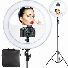 Diva Ring Light For Iphone 1 Photo Doctor Led Video Ring Light With Mirror Best