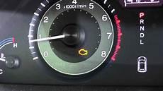 Honda Odyssey Engine Light Malfunction Indicator Lamp Check Engine Light Youtube