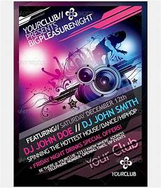 Party Poster Template 36 Dance Poster Templates Psd Indesign Free