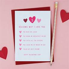 Reasons Why I Love You Five Reasons Why I Love You S Card By