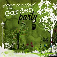 Garden Party Invites In My Pencilcase Party Invitations