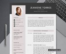 Creative Professional Cv 2020 Creative Cv Template For Ms Word Modern Cv Layout