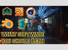 Best 3D Animation Software to Learn   YouTube