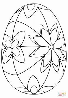 detailed easter egg coloring