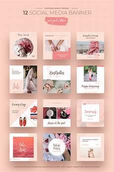 social media design templates pink peach social media designs social media 66292