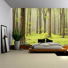 home decor wall murals green forest mural wall mural removable sticker