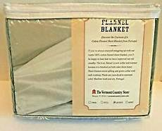 Vermont Country Store Size Chart Vermont Country Store Flannel Sheet Blanket Queen Size