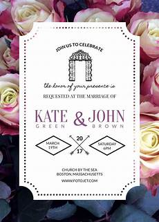 Invitations Maker Online 3 Beautiful Free Wedding Invitation Templates That You Can