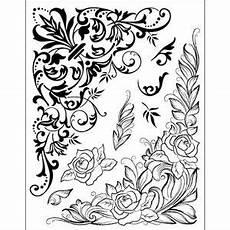 Malvorlagen Jugendstil Classic Motivstempel Ornamente Quot Gro 223 E Eckelemente Quot Stempel