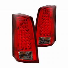 2006 Cadillac Cts Led Lights Cg 174 03 Cct03tledrs Cadillac Cts 2003 Chrome Red Smoke