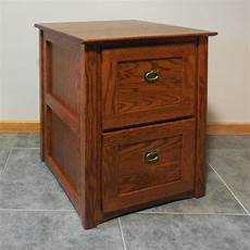 authentic mission style solid oak 2 drawer filing cabinet