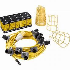 Festoon Lighting Kit 240v Defender 110v 22m Led Festoon Lighting Set Es