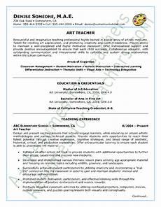 Art Teacher Resume Samples Art Teacher Resume Sample Teaching Resume Teacher