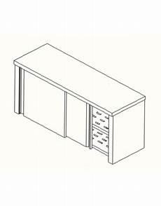 armadietto pensile armadietto pensile inox ripiani asolati cm 150x40x60h
