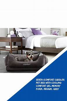 serta icomfort cuddler pet bed with cooling comfort gel