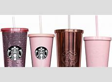 Rose Gold Starbucks Tumblers Exist and They?re So Pretty!