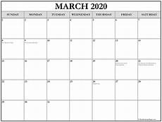 March 2020 Printable Calendar With Holidays Collection Of March 2020 Calendars With Holidays