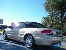 Light Almond Pearl Metallic Clearcoat 2002 Chrysler Sebring Limited Convertible In Light Almond
