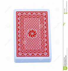 Card Image Pack Of Playing Cards Stock Photo Image Of Paper Back