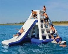Floating Slide Commercial Inflatable Water Slide Floating Game Aqua