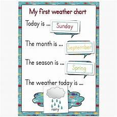 Weather Chart For Preschool Classroom Printable Fantail Digital Art Quot My First Weather Chart Quot Free