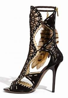 Designer Shoes With Feathers 17 Best Images About Feather Shoes On Pinterest