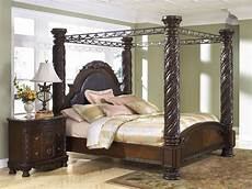 Shore Poster Bedroom Set Shore King Poster Bed With Canopy From