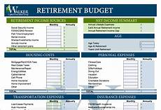 Retirement Budget Planner 15 Easy To Use Free Budget Templates Gobankingrates