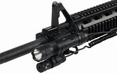 Utg Laser Light Combo Lt Elp38 Utg 2 In 1 Metal Cree Led Flashlight Adjustable
