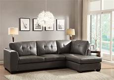 Gray Sectional Sofa 3d Image by Homelegance Springer Sectional Sofa Grey Bonded