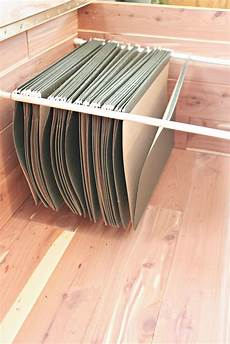 filing cabinet rods cabinet ideas