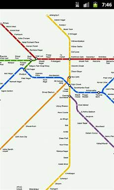 Delhi Metro Price Chart Delhi Metro Fare Chart