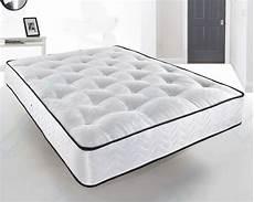 damask memory foam tufted pocket mattress 3ft single 4ft6