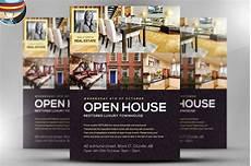 Broker Open House Flyer Open House Flyer Template Flyer Templates Creative Market
