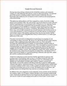 Personal Statement For Graduate School Examples 4 Grad School Personal Statement Examples Registration