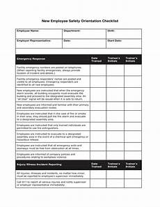 Sample New Hire Orientation Checklist 12 New Employee Orientation Checklist Examples Pdf