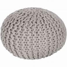 knit pouf shop project nursery