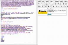 How To Create Email Html Template How To Create An Html Email Signature