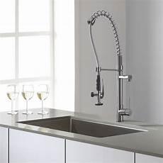Kraus Kitchen Faucet Kraus Kpf1602 Single Handle Chrome Pull Commercial