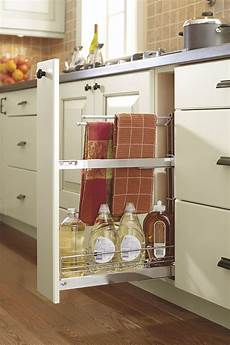 base pull out towel rack cabinet kitchen craft