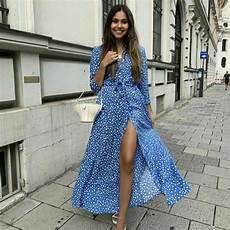 zara clothes marilyn zara marilyn shirt button maxi midi dress belted blue