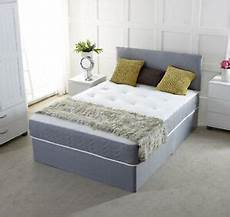 new chenille divan bed base storage drawers single