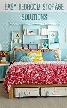 Bedroom Storage Solutions Easy Bedroom Storage Solutions Chic Living