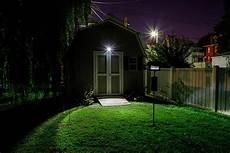 Backyard Flood Light Wireless Motion Sensor Led Spotlight By Mr Beams Motion