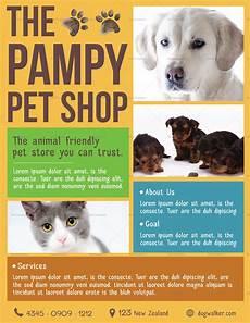 Pet Flyer Pet Shop Flyer Design Template In Psd Word Publisher